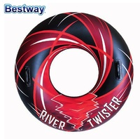 36107 Bestway adult children's inflatable swimming ring infant swimming ring float buoy increase thickening w