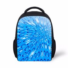 Noisydesigns blue drop School Bags Print beauty funny Schoolbag for Primary Boys girls High College Student Bookbags(China)