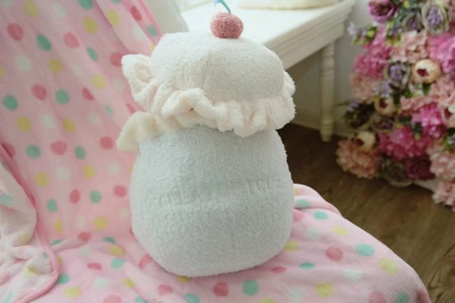 1pc 150cm velvety Macaron color ice cream plush coral fleece rest office cushion + blanket stuffed toy romantic gift for baby