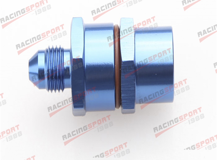 3AN Male To 3AN Male High Flow Billet Turbo Oil Feed Line Filter 30Micron Black