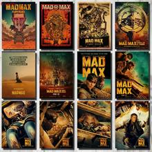 Crazy Max Movie Poster Classic Vintage Kraft Paper Wall Sticker Retro