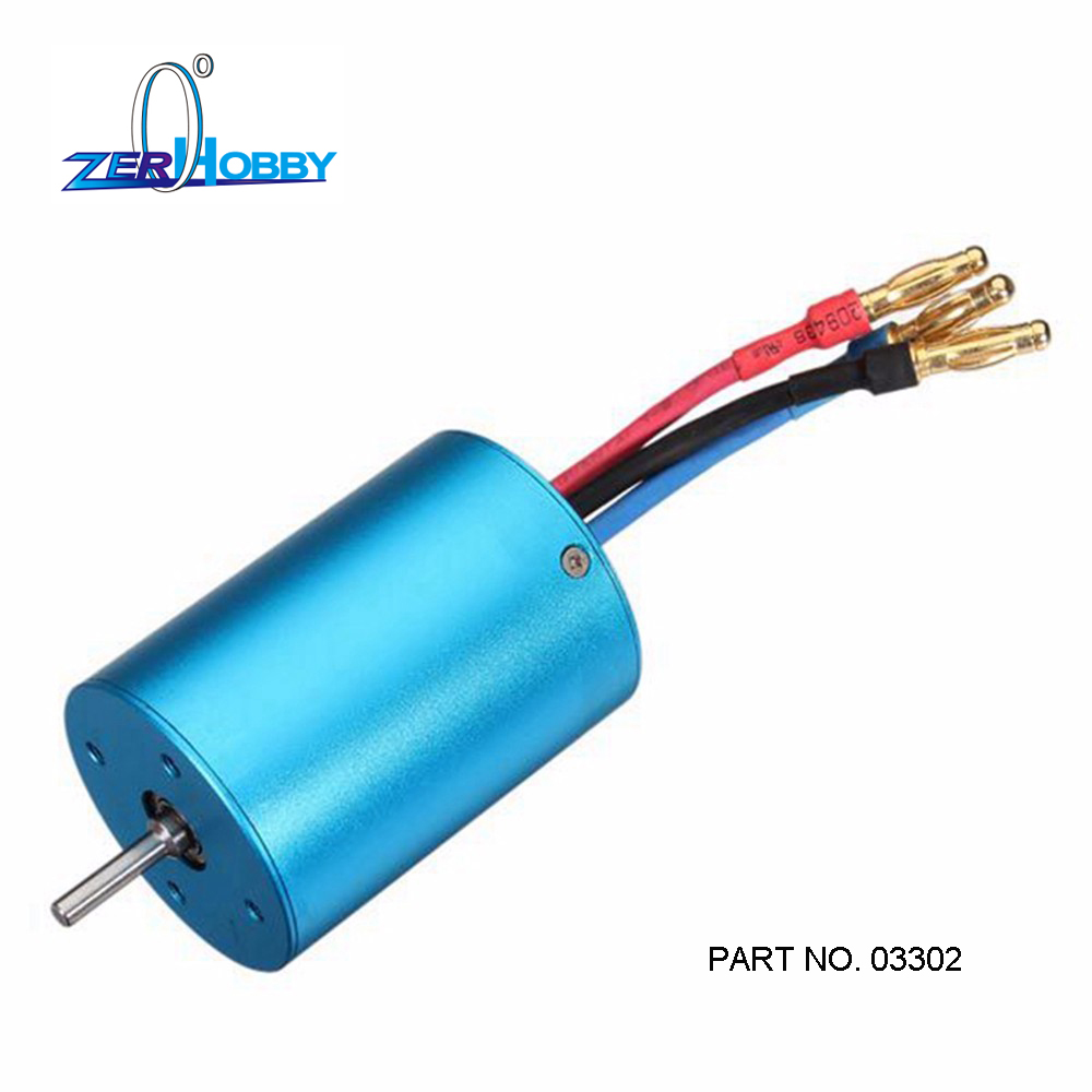 FREE SHIPPING  03302  3650 BRUSHLESS 540 Motor For 1/10 RC Cars Remote Control Car HSP HPI 2-3S Lipo 1 10 rc car 3650 senseless brushless 4300 3100 2050kv motor