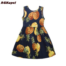 AGKupel Hot Flower Girl Dress Summer Baby Girl Clothes Infant Party Dress Girl Cotton Kids Dresses Princess Children Clothing