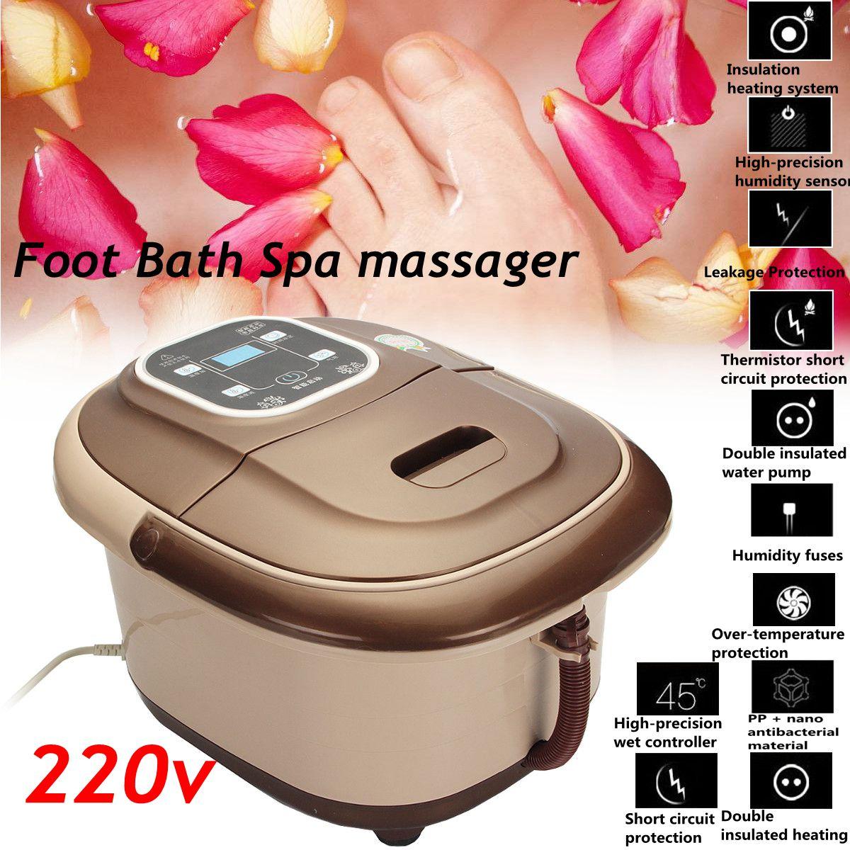 ЖК-дисплей 500 Вт 220 В ванночку для ванны инфракрасной терапии массажер огнестойкость изоляции кислорода пузырь