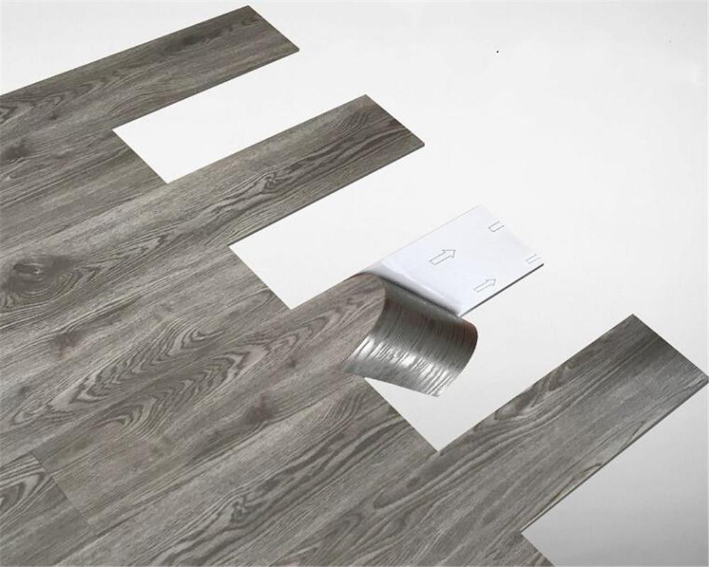 Beibehang Thicken Floor Leather Household PVC Floor Stickers Floor Paper Waterproof Wear-resistant Floor Paper Cement Plastic