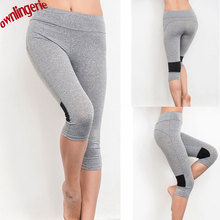 2017 new Horny Stretched Garments Spandex Fast-Drying Leggings Health Lively Pants for Younger woman ZL4014