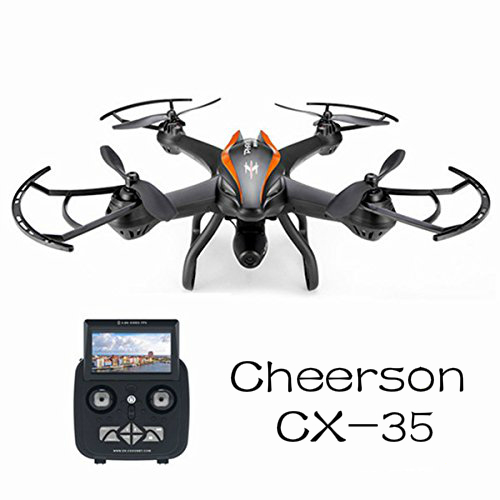 Cheerson CX-35 CX35 5.8G 500M FPV With 2MP Wide Angle HD Camera Gimbal High Hold Mode RC Quadcopter Mode Switch cheerson cx 35 cx35 rc quadcopter spare parts battery cover