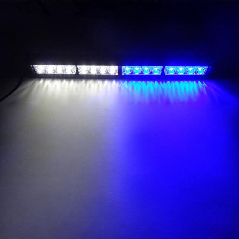 16led emergency warning traffic advisor vehicle strobe led light 16led emergency warning traffic advisor vehicle strobe led light bar yellow amber red blue white in car light assembly from automobiles motorcycles on aloadofball Image collections