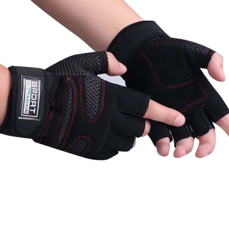 Weight Lifting Gym Gloves Training Fitness Wrist Wrap: Sports Exercise Crossfit Gym Training Fitness Accessories