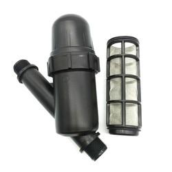 1 個庭の水まき金属ネットフィルタースクリーン噴霧器 3/4 インチ 120 メッシュ点滴灌漑噴水ツール