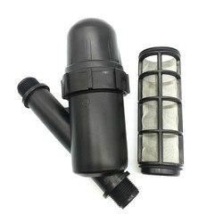 1 pçs jardim rega metal net filtro tela pulverizador 3/4 Polegada 120 malha jardinagem ferramentas de irrigação por gotejamento fonte