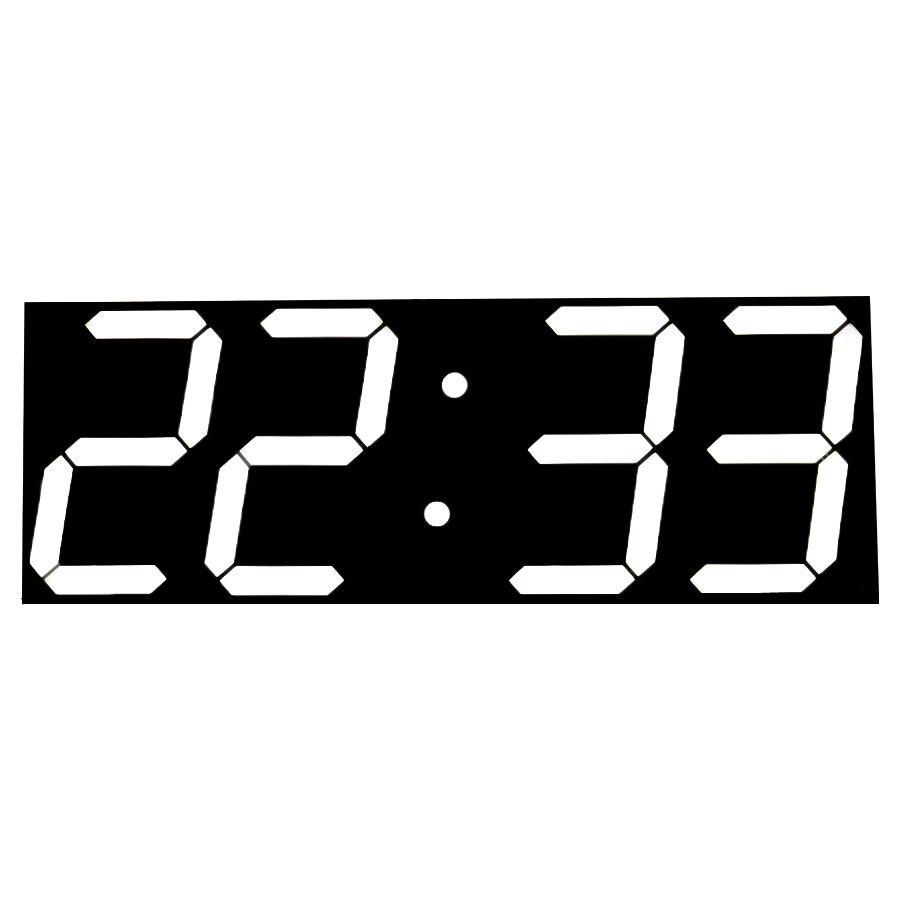 Grande Horloge Murale Numérique Design Moderne Mur Chronomètre Compte À Rebours Calendrier Température Station Météo Décor À La Maison Nixie Horloge