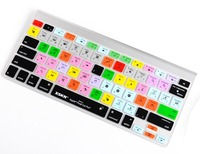 Functional Keyboard Cover Final Cut Pro 7 Shortcut Design Silicone Keyboard Cover Skin For Macbook Pro