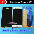High Quality New LCD Display +Digitizer Touch Screen assembly For Sony Xperia Z3 Cellphone 5.2 inch 1920*1080 Black White Color