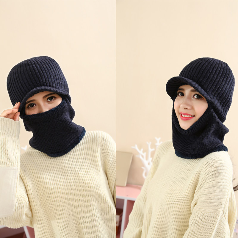 Aovkovsa balaclava ojo lana de punto sombreros para hombres y ...