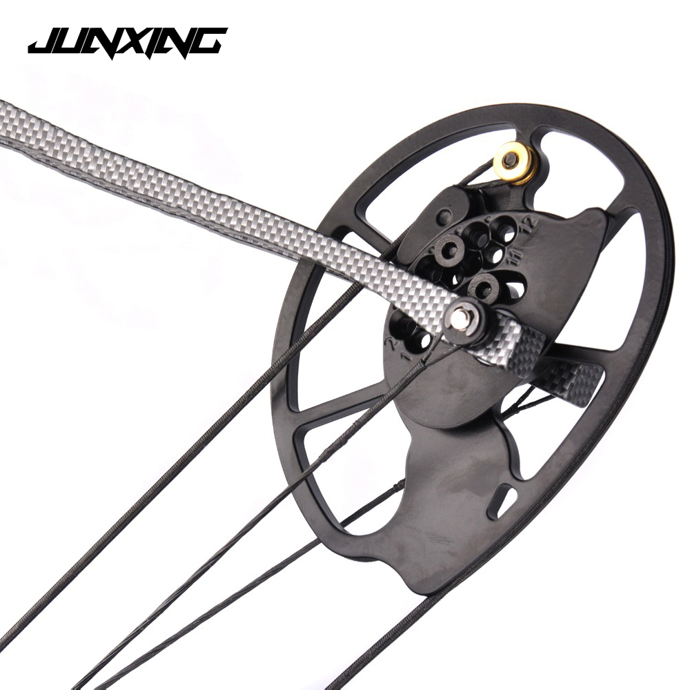 High Quality 1 Pair Compound Bow Pulley Aluminum Alloy Suit 20-70 LBS Compound Bow DIY for Outdoor Hunting Shooting Fishing 35 70 lbs powerful compound bow aluminum alloy archery bow arrow for outdoor hunting shooting