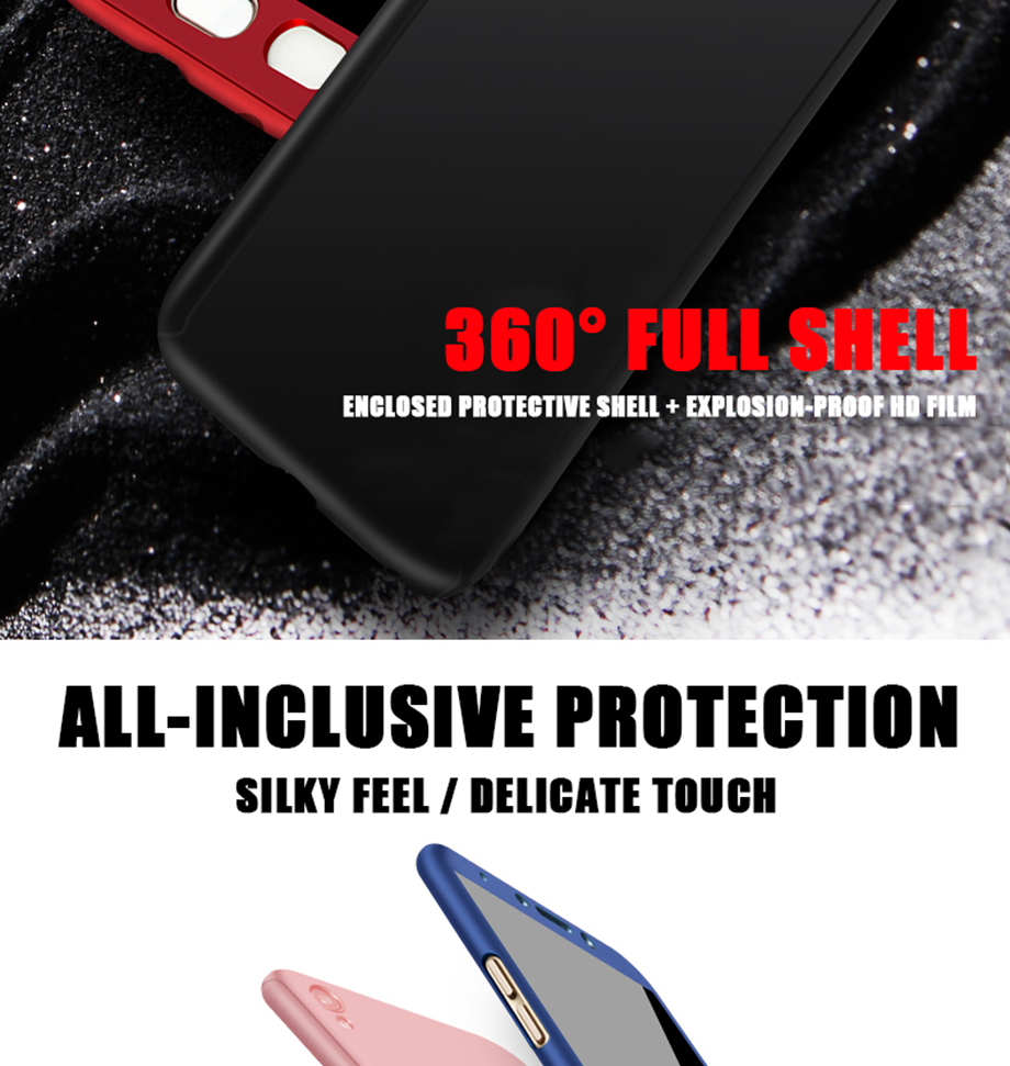 3-PC- For Samsung Galaxy S7 Case 360 For Samsung J510 J710 J530F Cases