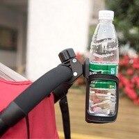 Heißer verkauf Bike Fahrrad Wasser Tasse Schwarz Halter Baby Flaschen Rack Milch Flasche Trinken Baby Kinderwagen Zubehör Käfig Radfahren bike-in Fahrradflaschenhalter aus Sport und Unterhaltung bei