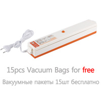 Household Food Vacuum Sealer Packaging Machine Film Sealer Vacuum Packer Including Bags Parts sealing machine 110V/220V
