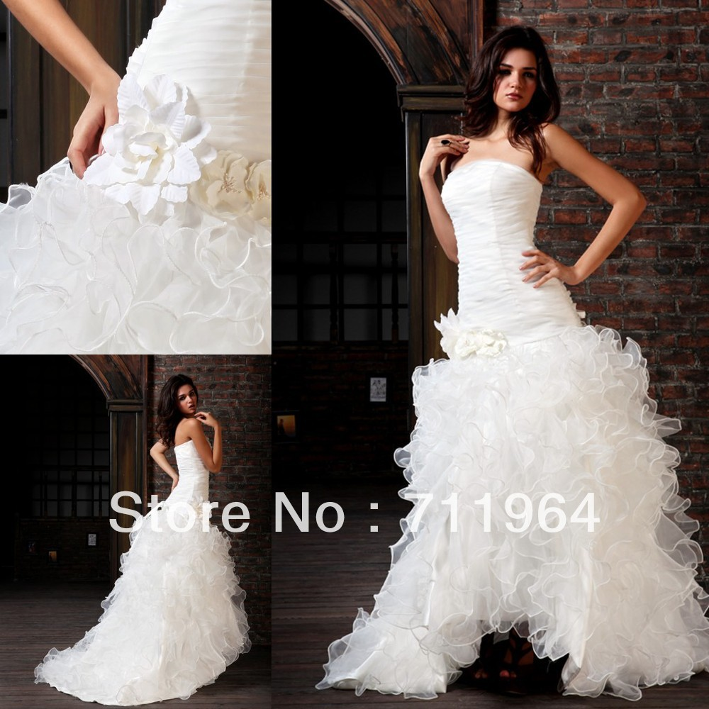Arabic designer china puffy ball gown satin fabric flowers for Cloth for wedding dresses