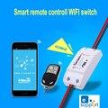 Itead sonoff wifi módulo de interruptor de control remoto inalámbrico inteligente bricolaje rf433 universal toma de interruptor temporizador para mqtt coap casa inteligente