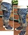 Ems / DHLFree доставка 2014New весна осень джинсовые брюки мальчик одежда