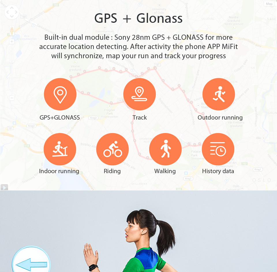 Huami Amazfit Bip Smart Watch With Reflection Color Screen IP68 Waterproof Technology And GPS for Android & iOS 4