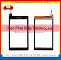 """10 Unids/lote Alta Calidad 7 """"para lenovo tab 2 a7-10 a7-10f panel de la pantalla táctil con digitalizador lente de cristal frontal negro + código de seguimiento"""