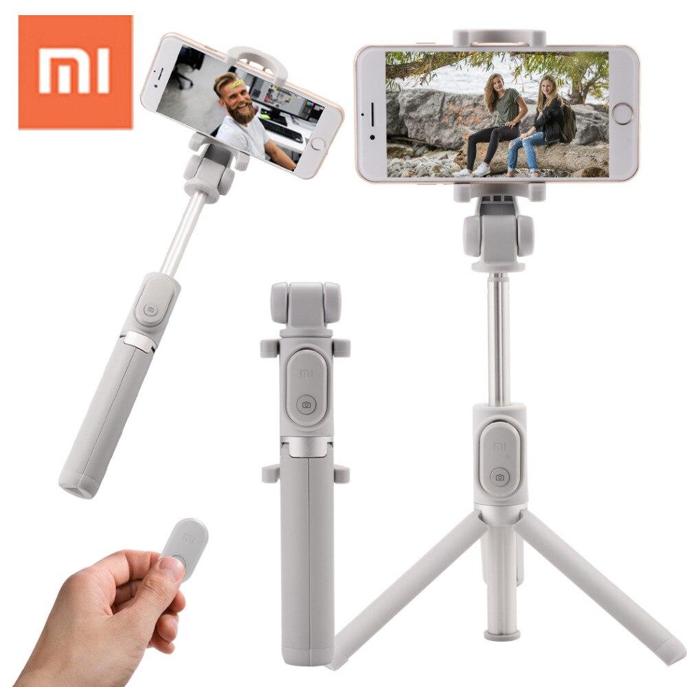 Xiaomi Bluetooth Selfie Stick Holder Millet Monopod Stand 2 In 1 Tripod Stick Holder Mini Wireless for iPhone 6s Phone