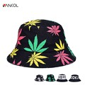 2015 Hot Fashion New Galaxy Letters Geometric Floral Blue Red Gorras Touca Women Men Outdoor Travel Fishing Summer Bucket Hat