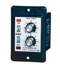 Anly double relay atdv-ya/yb/yc/yd/ye genuine taiwan research anv time relay ah2 yb ac220v