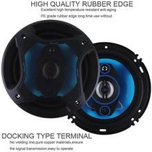 2pcs 6.5 Inch 180W 3 Way Car Hifi Loud Coaxial Speaker Horn