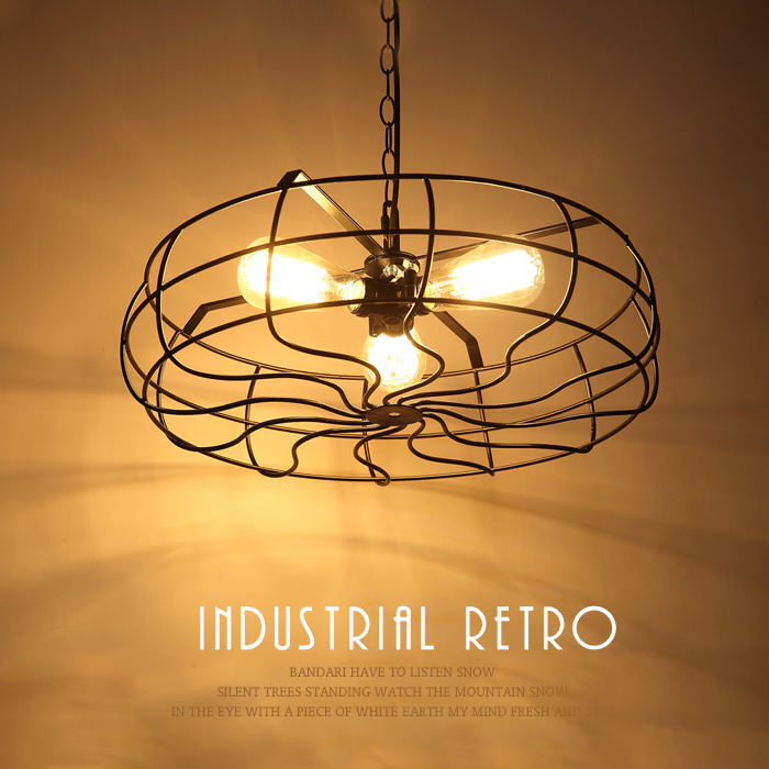 Loft American retro Iron pendant lights creative personality industrial fan art lamp Restaurant Bar Cafe pendant lamp ascelina american retro pendant lights industrial creative rustic style hanging lamps pendant lamp bar cafe restaurant iron e27