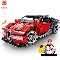 Race Car Series LegoINGLYS Technic Bugatti Chiron Super Racing Sets Model Building Blocks Brick Compatible Legoingly Kids Toys
