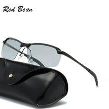 width-147 New BRAND DESIGN Classic Glasses Photochromic pilot Sunglasses men Polarized lenses UV400 big Frame for male Eyewear