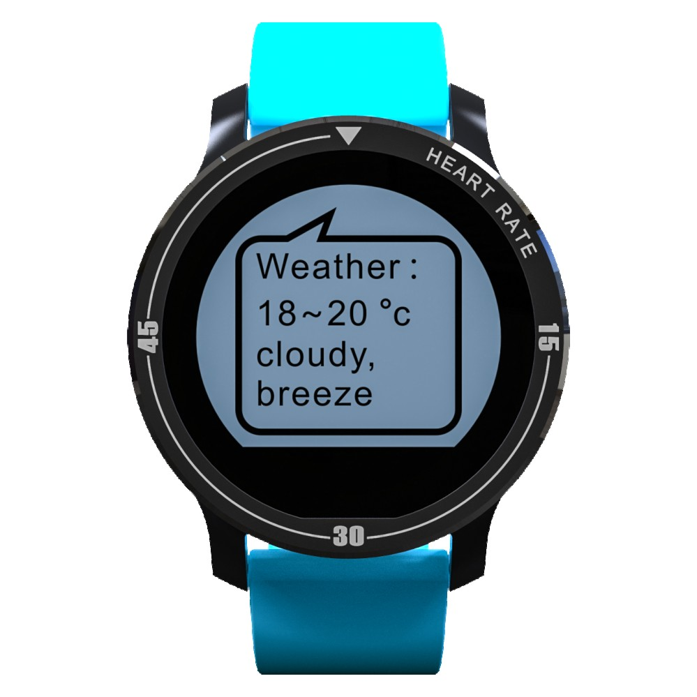 Smartch Bluetooth Smart watch S200 support Heart Rate Monitor IP67 Waterproof Pedometer Call Reminder smartwatch for