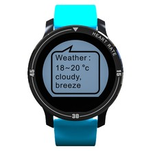 Smartch Bluetooth Smart watch S200 support Heart Rate Monitor IP67 Waterproof Pedometer Call Reminder smartwatch for Android IOS