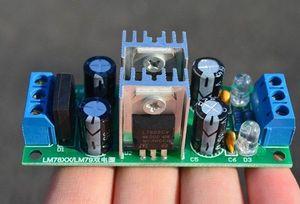 Image 2 - LM7812 LM7912 positif négatif 12V double régulateur de tension redresseur pont Module dalimentation cc 15V ~ 24V