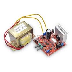 Бесплатная доставка 0-30V 2mA-3A Регулируемый DC Регулируемый источник питания DIY Kit с US 110V трансформатор