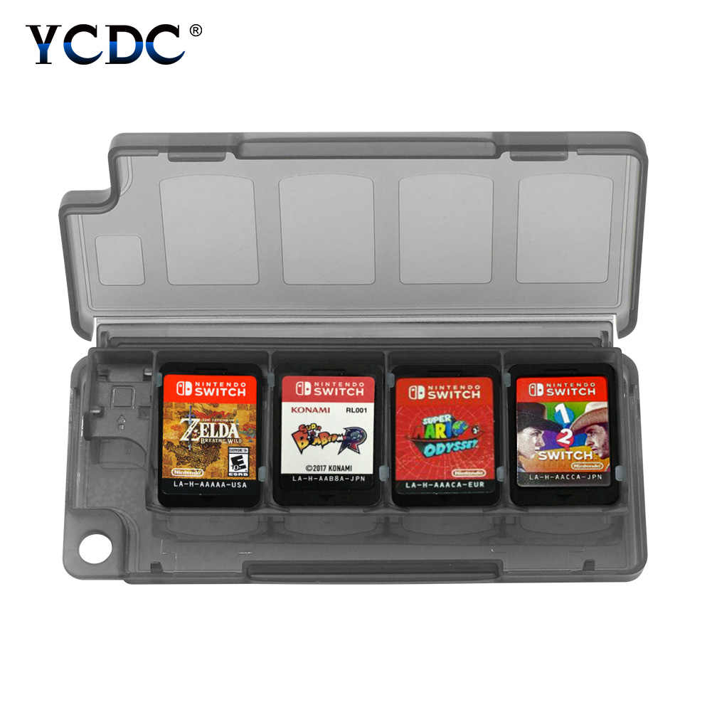 10 in 1 Game Card Case Draagbare Cartridge Box Protector Voor Nintendo Switch Opbergdoos Protector Case Waterdicht Anti- shock