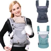 Adjustable 0 36M Ergonomic Baby Carriers Backpack Portable Baby Sling Wrap Cotton Manduca Infant Newborn Kangaroo Bag Hipseat