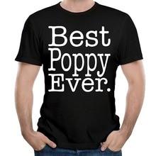 Bulk T Shirts MenS Short Sleeve Comfort Soft Crew Neck Best Poppy Ever Shirt