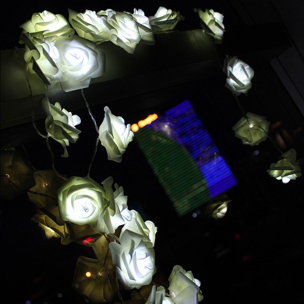 2M 20 Led Lampu Krismas Romantik Bateri Dikuasakan Untuk Pernikahan - Pencahayaan perayaan - Foto 3