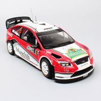 kid 1 18 Sunstar big Ford RS WRC 2008 Rally Acropol sports racing No.9 F.Villagra Diecast Vehicle model scale car toy gift