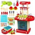 New educational toys children pretend play toys set kitchen toys set children's kitchen cooking toys set