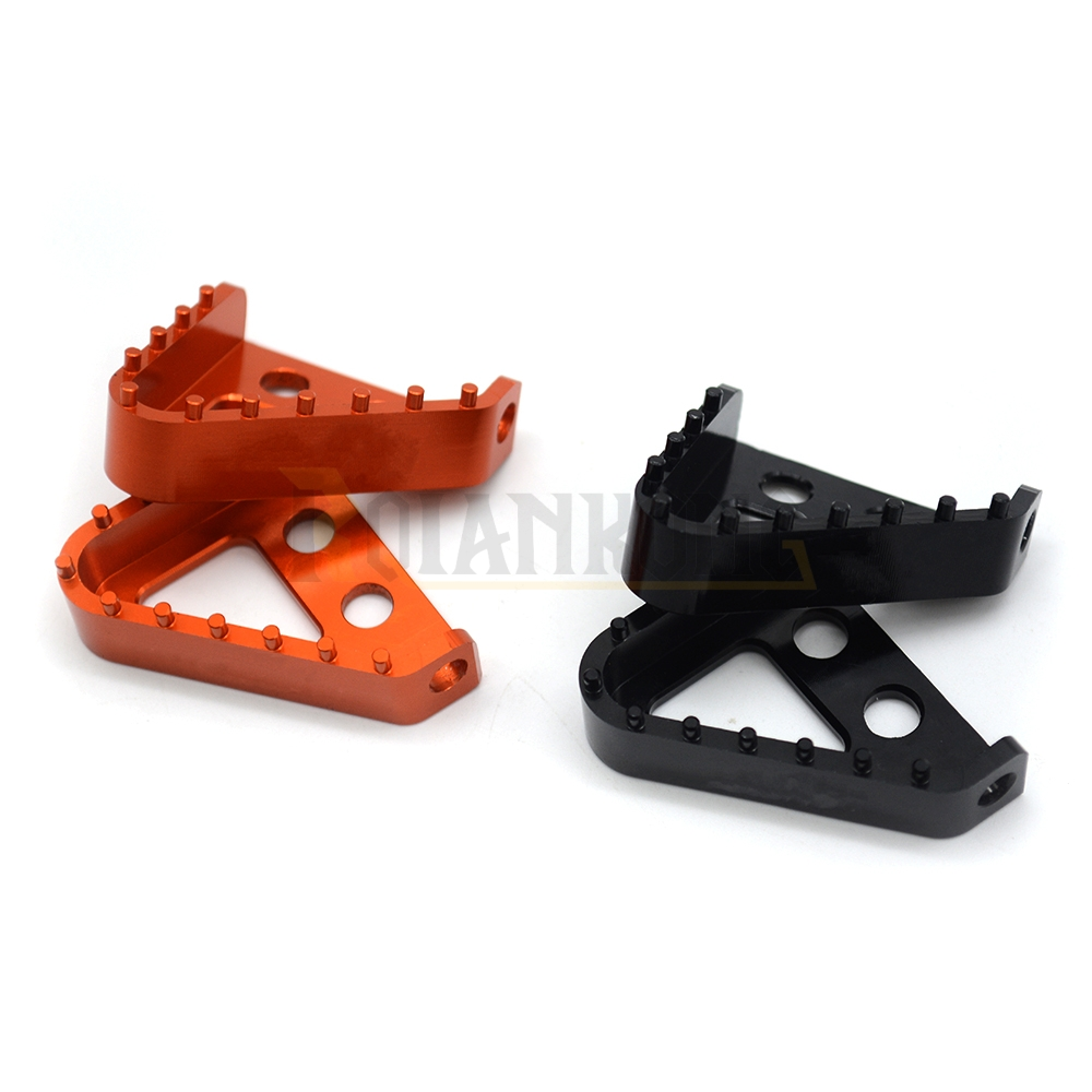 Motorcycle CNC Billet Aluminum Rear Brake Pedal Step Tips For KTM duke125 200 390 990 950 ADVENTURE 690 DUKE SMC 690 in Covers Ornamental Mouldings from Automobiles Motorcycles
