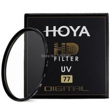 Хойя 77 мм HD UV Ультрафиолетовый Фильтр Digital High Definition Протектор Объектива Для Pentax Canon Nikon Sony Olympus Камера Leica Объектив