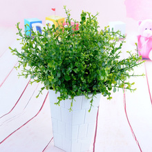Artificial Flower Grass Eucalyptus Plastic Fake Plants For Holiday Wedding Decors Home Decoration Sztuczne Kwiaty