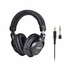 FB 777 על אוזן סגור סגנון 45mm נהגים יחיד צד להסרה כבל 3.5mm תקע 6.35mm מתאם צג אוזניות
