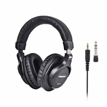 FB 777 sur oreille fermé Style 45mm pilotes simple face détachable câble 3.5mm prise 6.35mm adaptateur casques